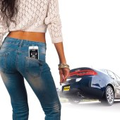 With Viper SmartKey, your iPhone is your car key