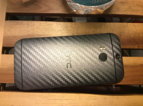 Slickwraps Carbon Fiber Wrap for the HTC One M8