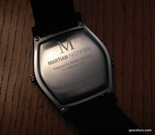 The back of the watch.