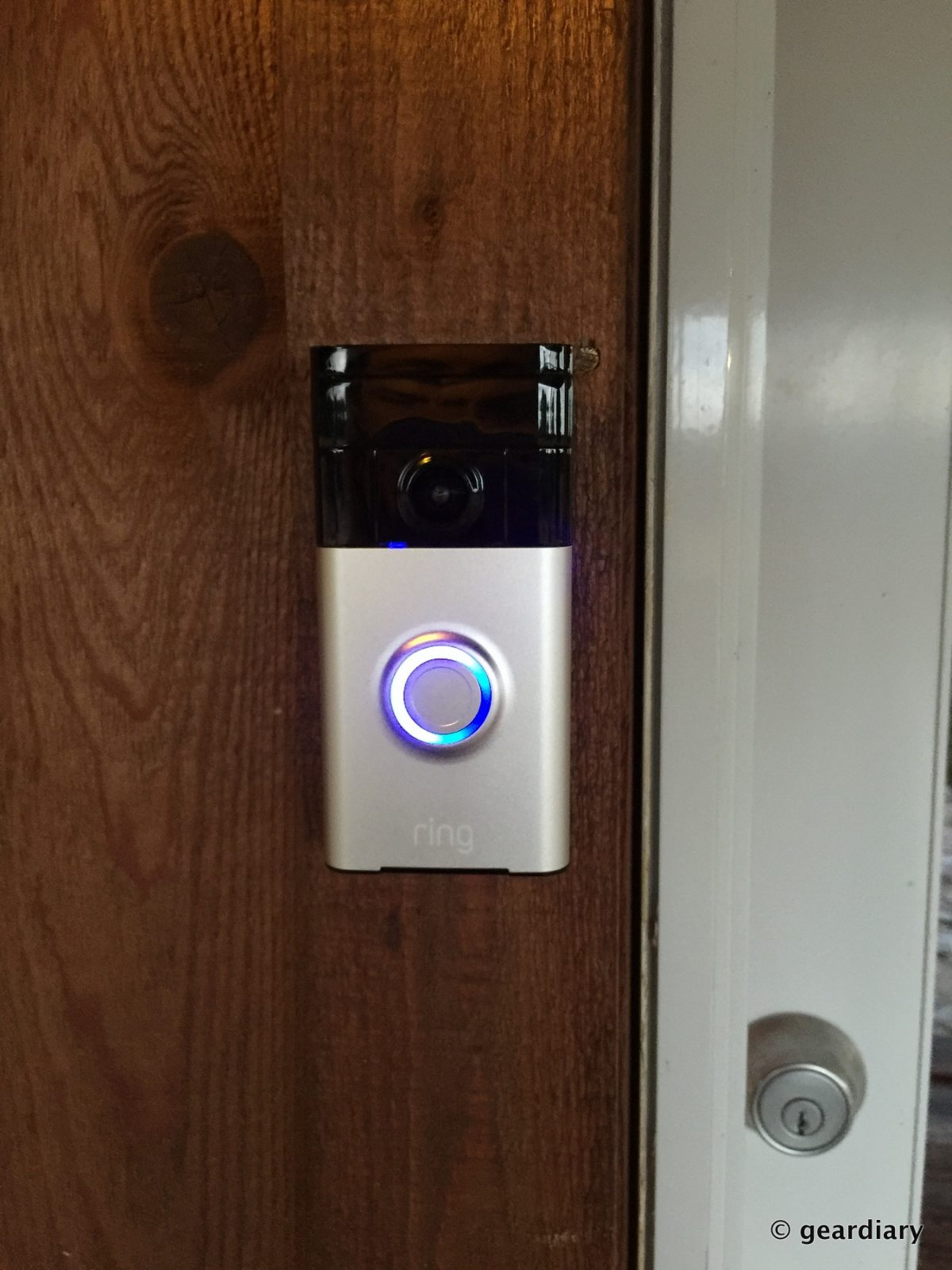 the ring video doorbell review see who s at your door. Black Bedroom Furniture Sets. Home Design Ideas