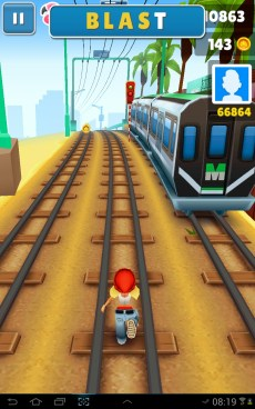 Subway Surf screeny