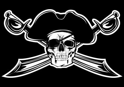 8700743-piracy-flag-with-skull-and-crossed-sabres