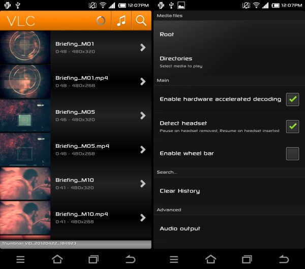 Here are four amazing video player apps for the android OS