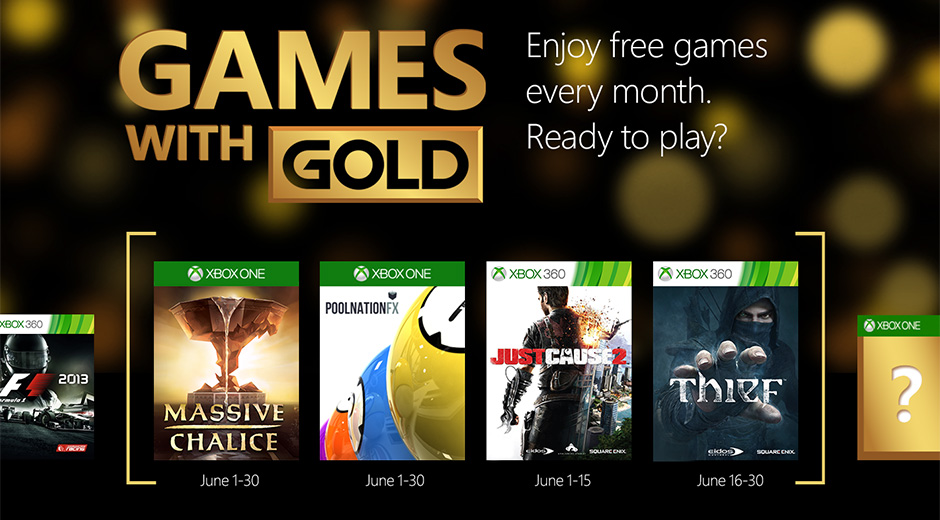 xbox 360 free games with gold list june