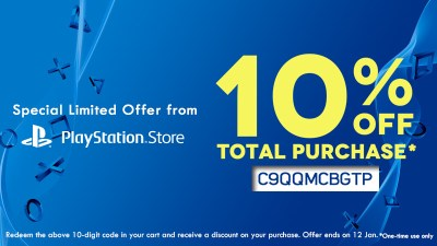 PlayStation Asia Is Offering 10% Discount Code To Celebrate New Year, Valid Till Jan 12th