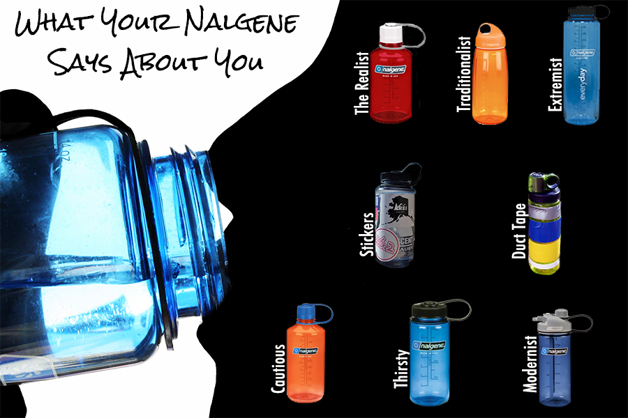 What your nalgene says about you gearographer