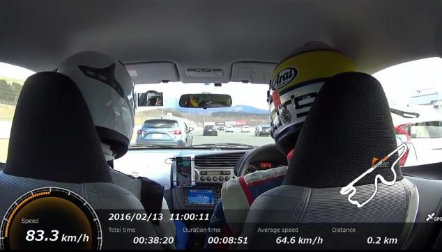 富士スピードウェイをエコカーで走りませんか?
