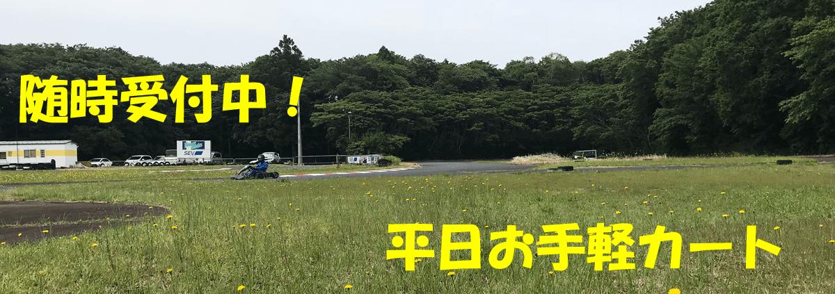 平日お手軽カート 随時受付中!