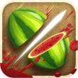 AppleのCMにも使われた【Fruit Ninja】のアプリが無料で配信中!爽快感抜群とりあえずDL!!