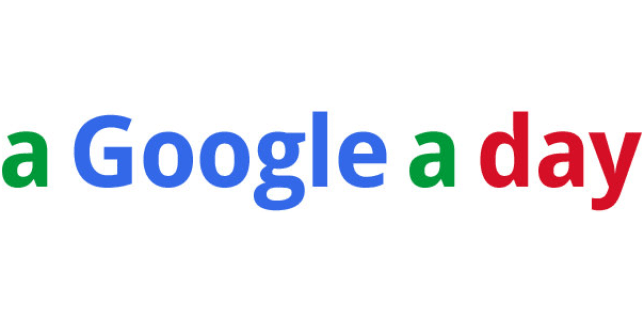 Google-a-Day logo Featured