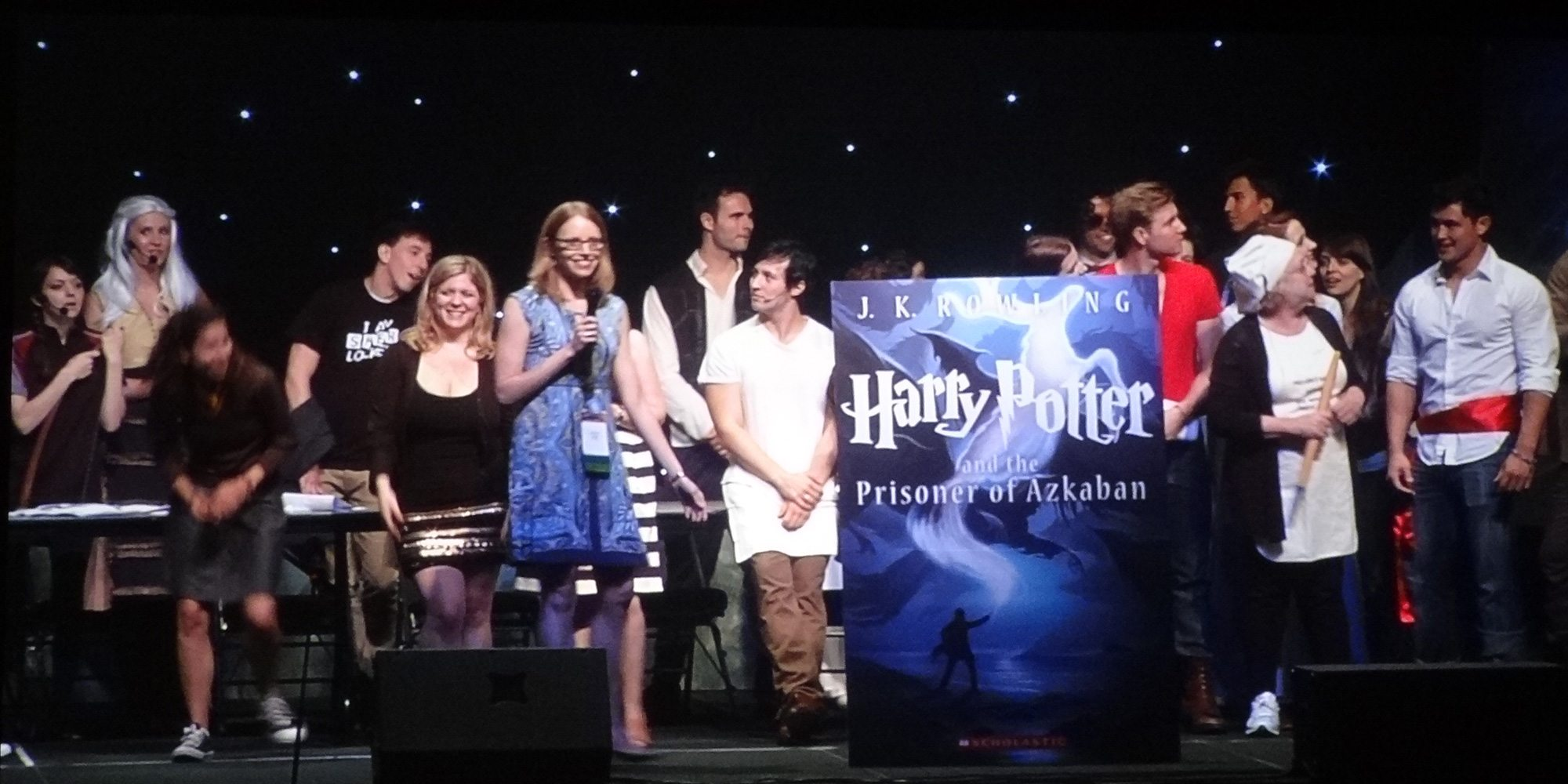 Harry Potter 3 unveiling