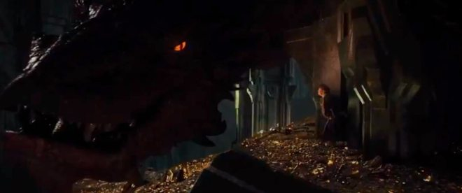 A glimpse of Smaug
