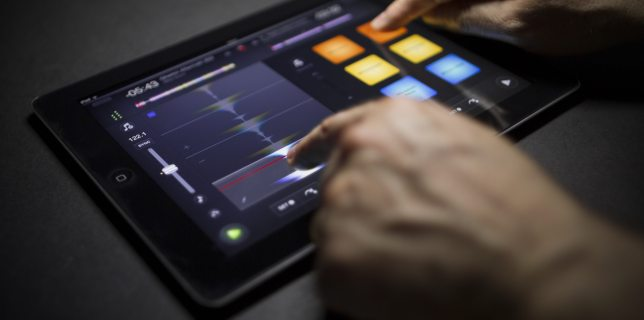 Algoriddim's djay 2 for iPad