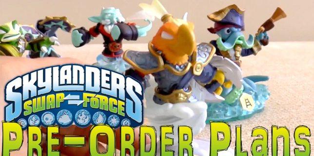 Swap Force Pre-Orders
