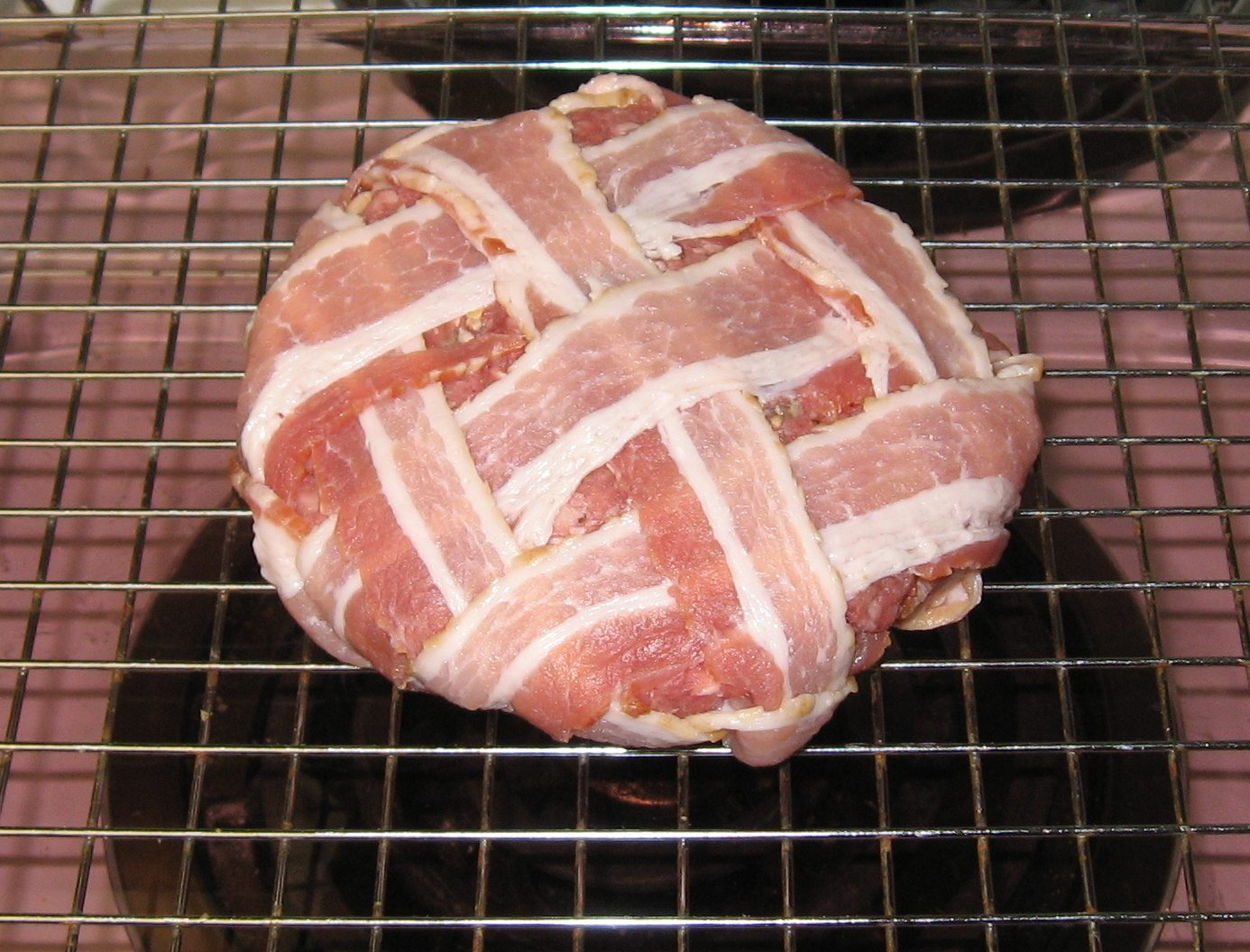 ... International Bacon Day: A Burger Wrapped in 10 Bacon Strips