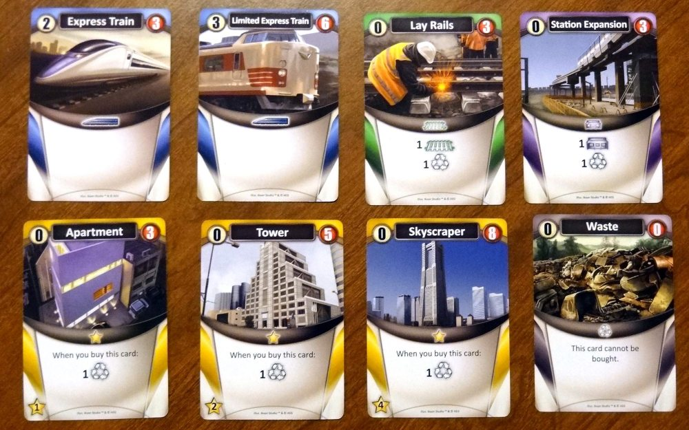 Trains basic cards