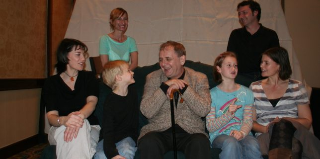Dashiel and Jocelyn Meet Sylvester McCoy and Sophie Alred