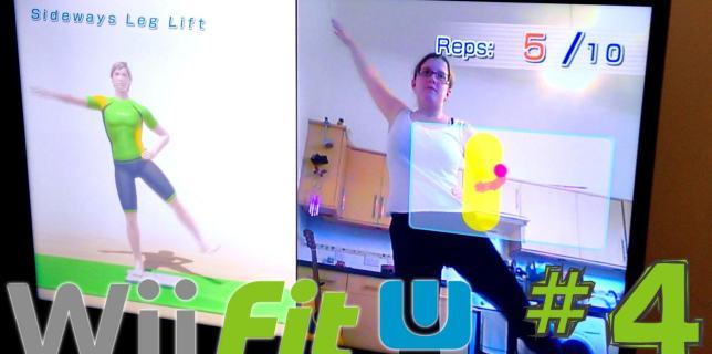 Wii Fit U Week 4