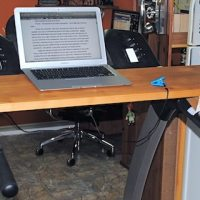 An Update on the MacGyvered Treadmill Desk