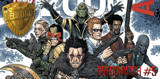 2000AD Prog 1874 cover, art by Edmund Bagwell