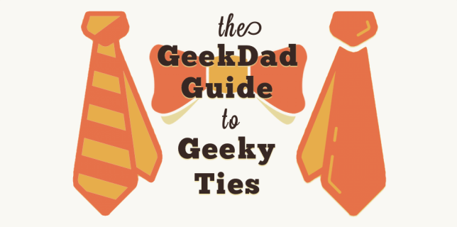 The GeekDad Guide to Geeky Ties