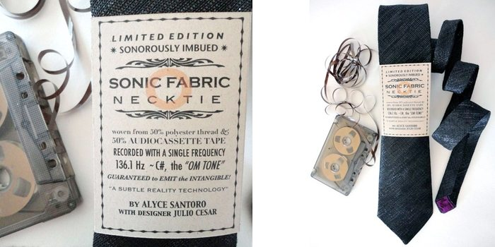 Om Edition Sonic Fabric Necktie