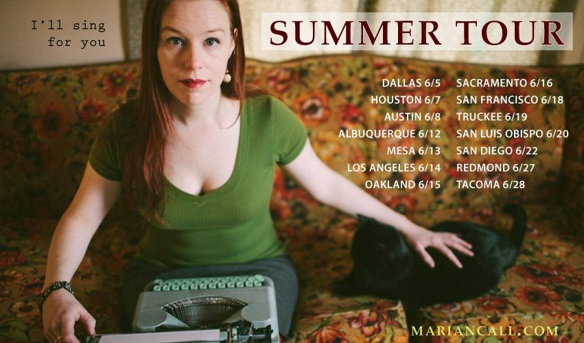 Marian Call Summer Tour