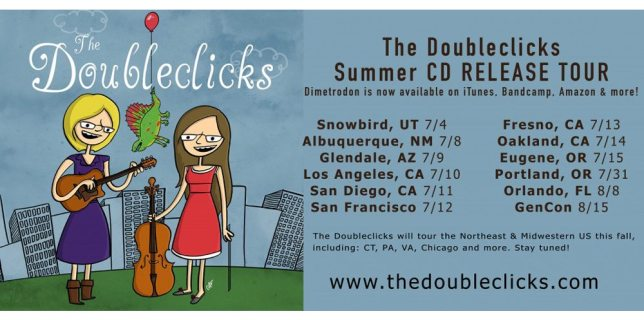 The Doubleclicks' <cite>Dimetrodon</cite> Tour