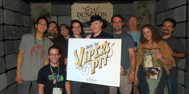 We Came, We Explored, Some of Us Died: An Enjoyable Evening in <cite>True Dungeon</cite>