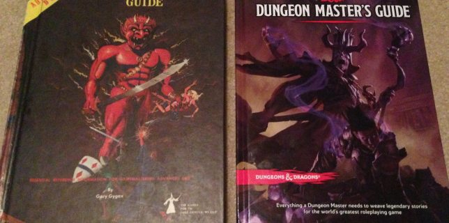 A Tale of Two Dungeon Master Guides – 1979 AD&D and 2014 D&D