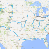How to Actually Drive Across the USA Hitting All the Major Landmarks