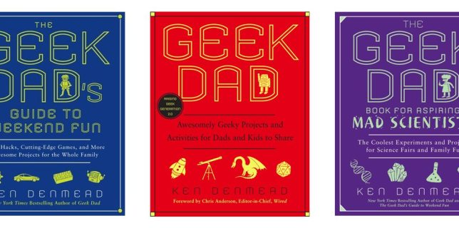 All You Need for Christmas Are the GeekDad Books