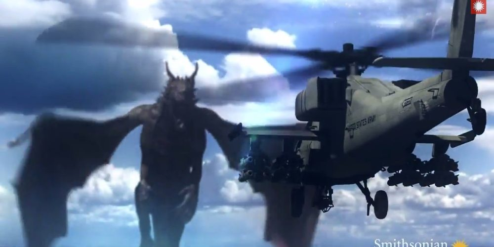 Fire-Breathing Dragon vs. Apache Attack Helicopter – Who Would Win?