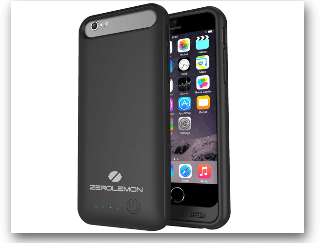 The ZeroLemon Slim Juicer 3100mAh Battery Case