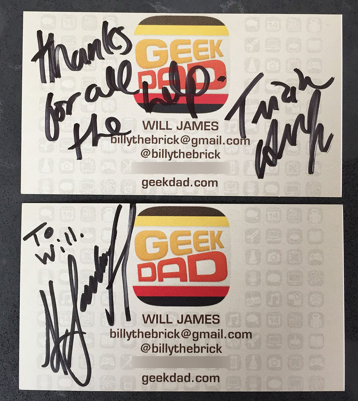 BSG-Autographs