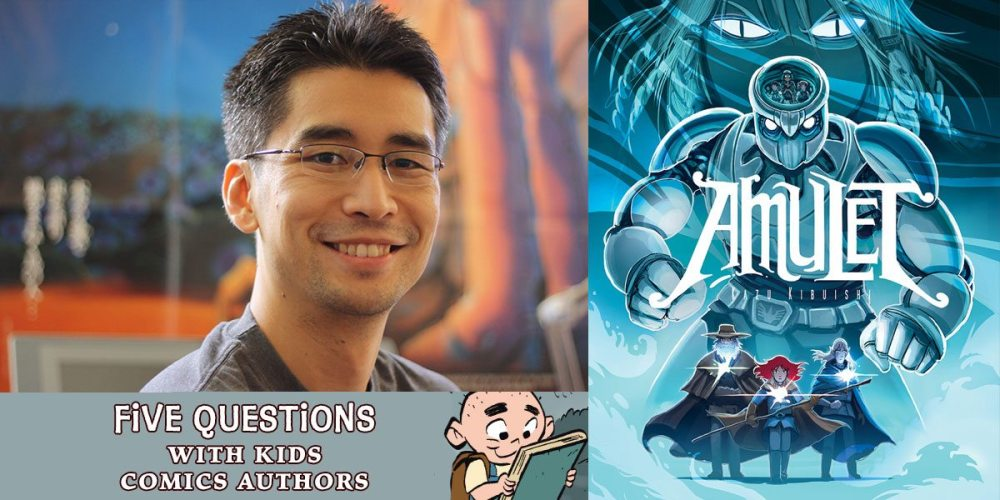 5 Questions with Kazu Kibuishi
