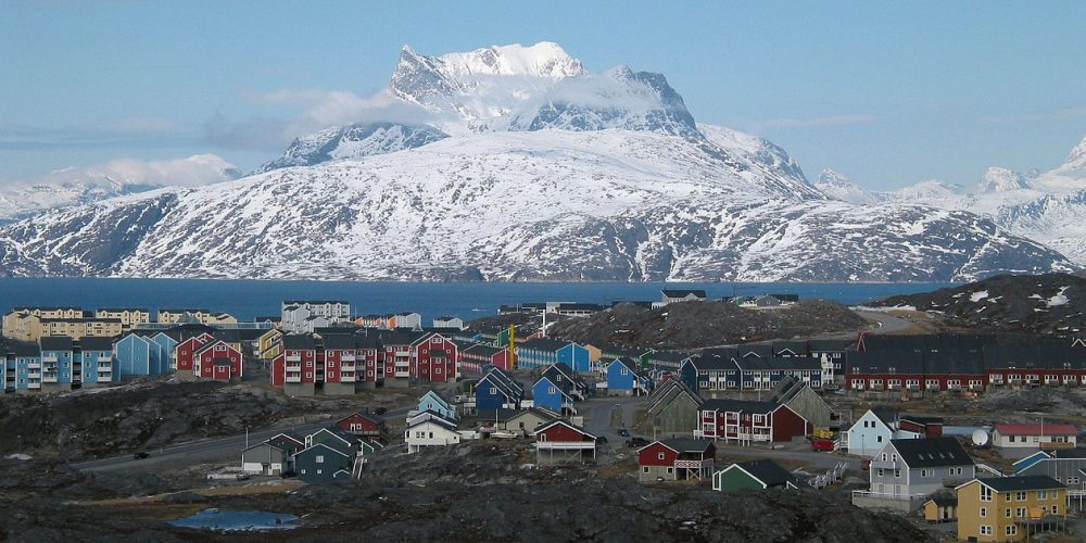 The capital city of Nuuk. Photo: Public Domain