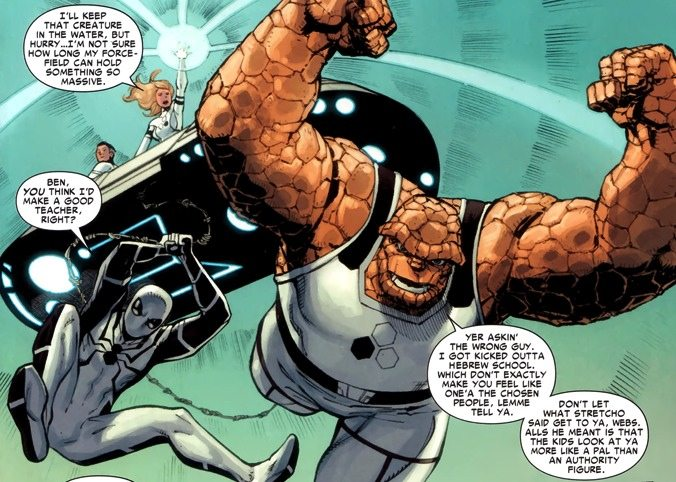 And the casual references? Ugh. Copyright: Marvel Comics.