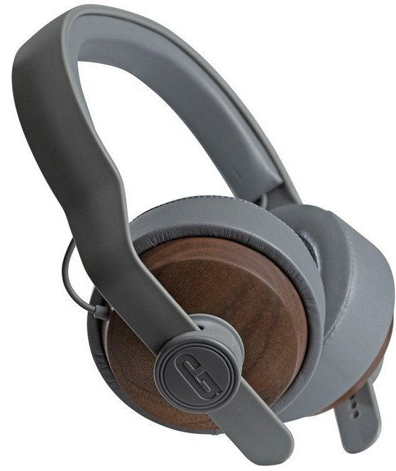 Grain Audio OHEP headphones made from solid walnut, leather and plastic