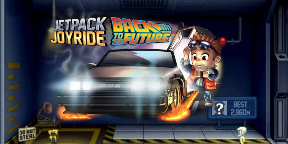 JetpackJoyride Back to the Future