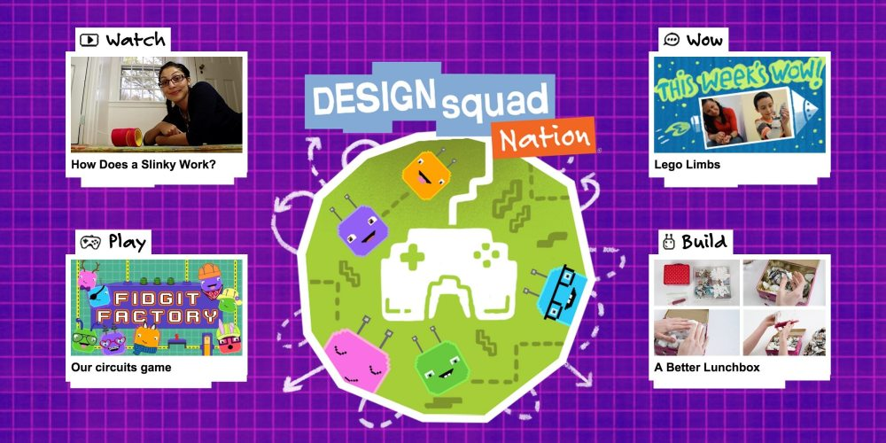 Design Squad home page