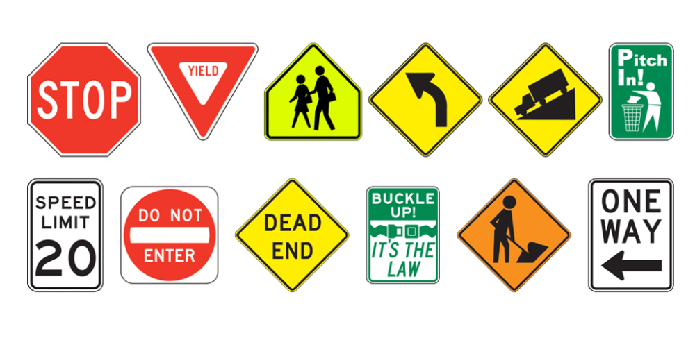 signs use