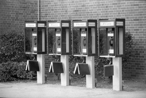 Until being largely supplanted by cell phones, the basic technology behind the telephone remained remarkably similar for nearly a century. (State Library and Archives of Florida, Deborah Thomas Collection. No known copyright restrictions).