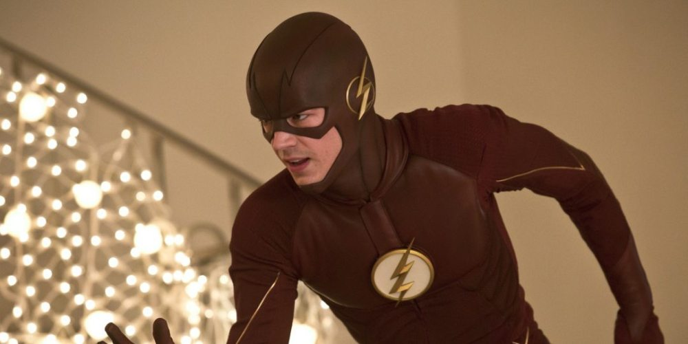 "The Flash -- ""Potential Energy"" -- Image FLA210b_0251b -- Pictured: Grant Gustin as The Flash -- Photo: Katie Yu/The CW -- © 2016 The CW Network, LLC. All rights reserved."