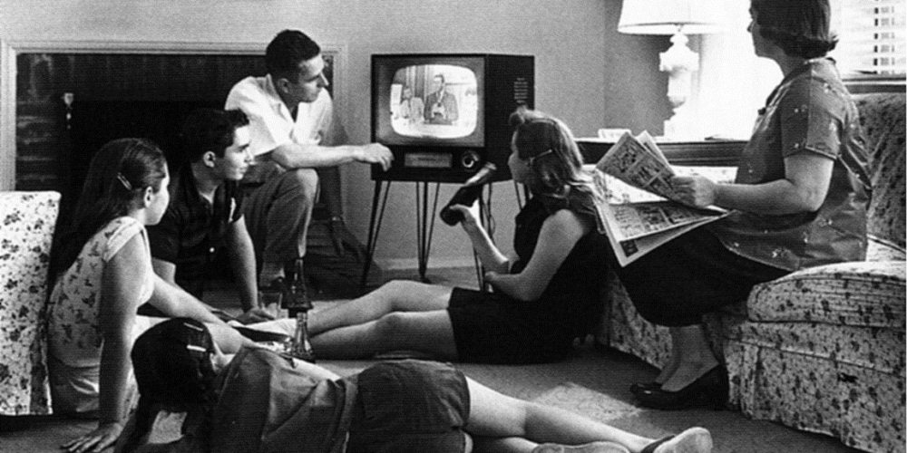 Watching TV with the family is a time-honored tradition... there must be something we'd all like to watch.