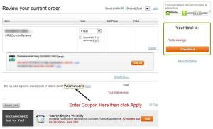 How to use GoDaddy Coupon Code