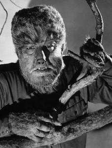 Lon Chaney as The Wolfman
