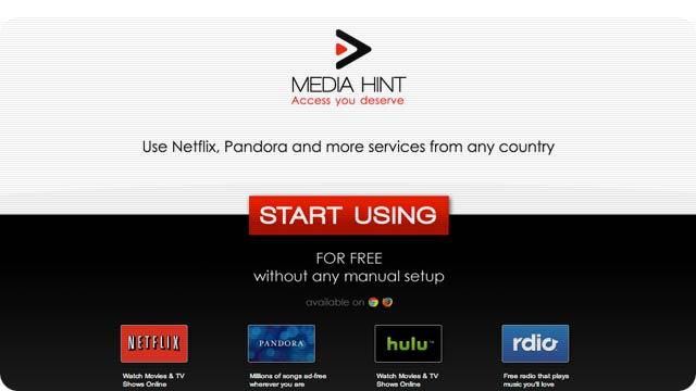 Media Hint, Hulu in UK