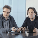 Seth Rogen and Paul Rudd Appear in Samsung Ad