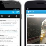 Twitter for Android Updated With New UI